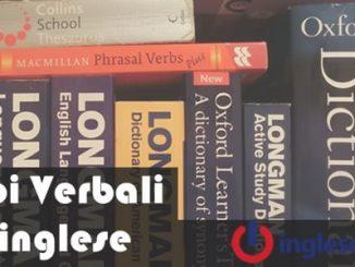 passato dei verbi in inglese